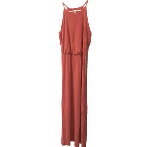 Gap Coral Maxi Peach Color Dress